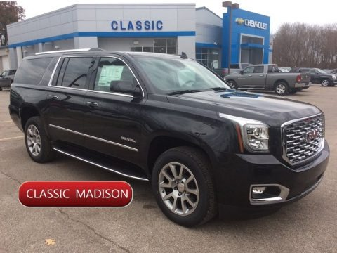 Carbon Black Metallic 2020 GMC Yukon XL Denali 4WD