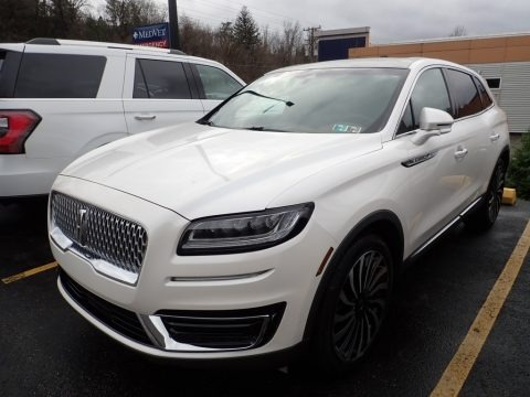 White Platinum 2019 Lincoln Nautilus Black Label AWD