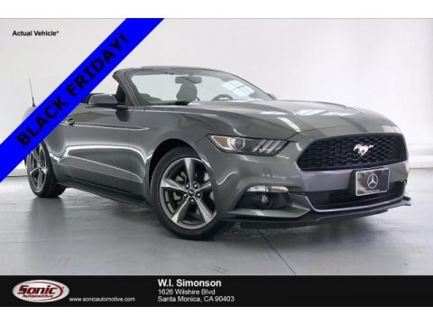 Magnetic Metallic 2015 Ford Mustang V6 Convertible