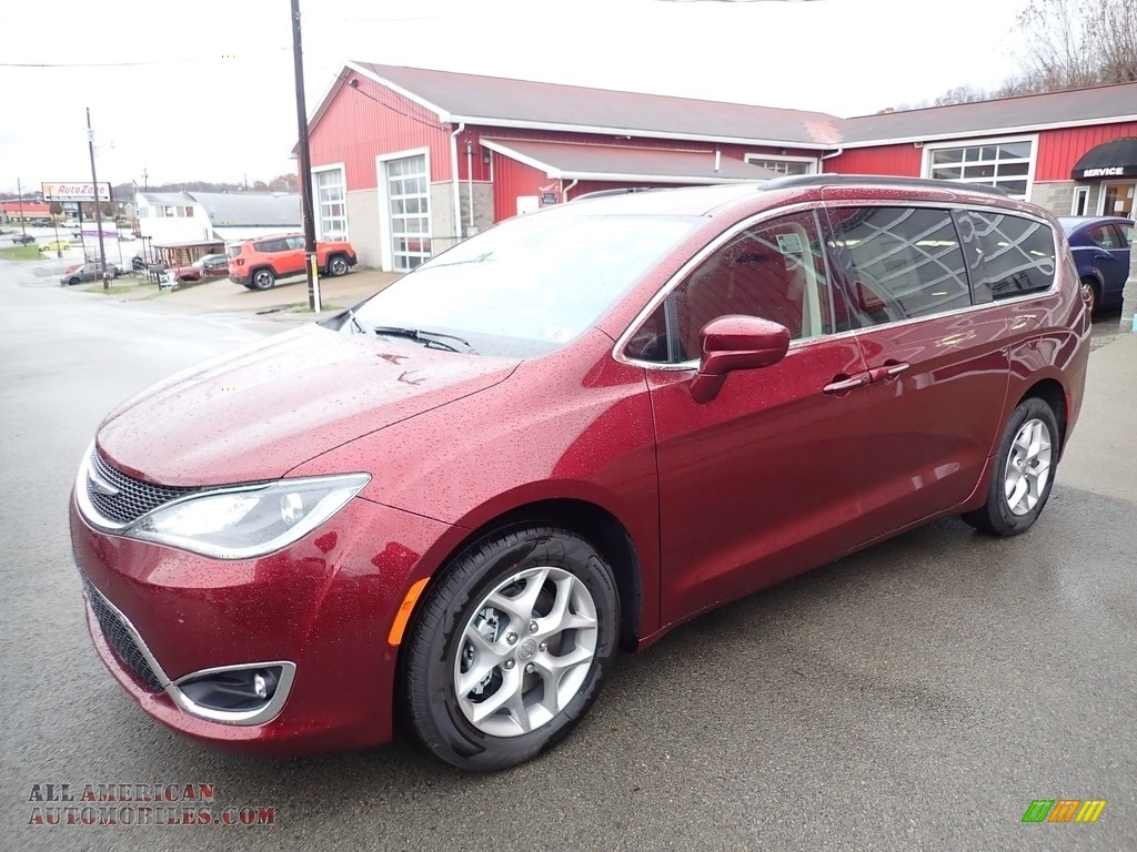 2020 Pacifica Touring - Velvet Red Pearl / Alloy/Black photo #1