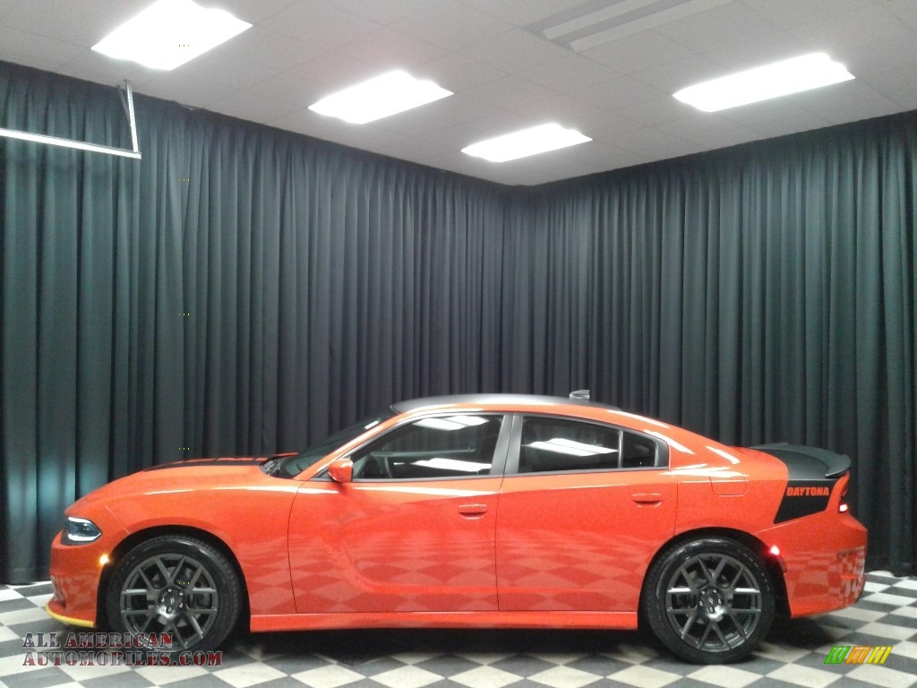 2019 Charger R/T - Go Mango / Black photo #1