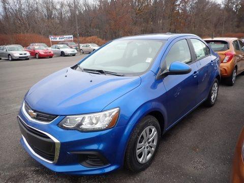 Kinetic Blue Metallic 2020 Chevrolet Sonic LS Sedan