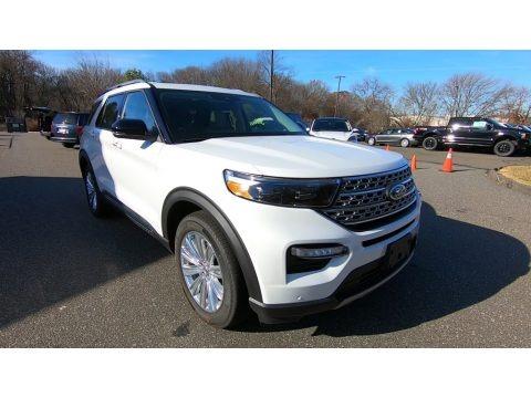 Oxford White 2020 Ford Explorer Limited