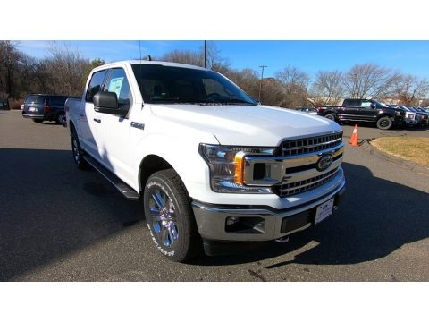 Oxford White 2019 Ford F150 XLT SuperCrew 4x4