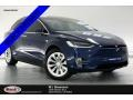 Tesla Model X 75D Deep Blue Metallic photo #1