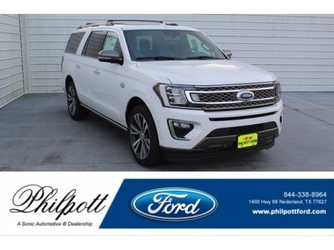 Star White 2020 Ford Expedition King Ranch Max