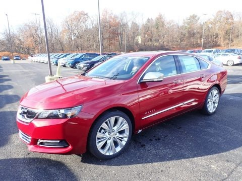 Cajun Red Tintcoat 2020 Chevrolet Impala Premier