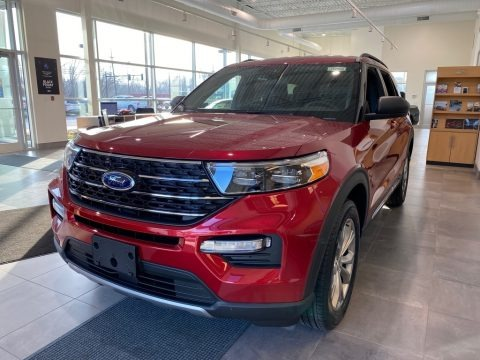 Rapid Red Metallic 2020 Ford Explorer XLT 4WD