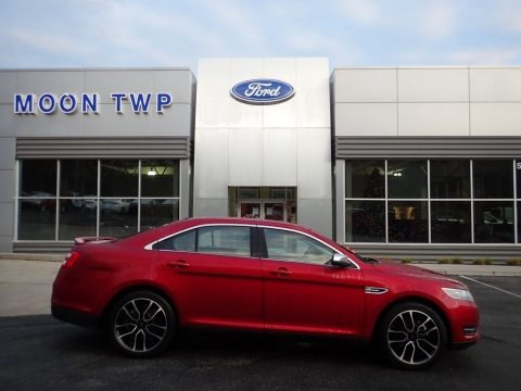 Ruby Red 2019 Ford Taurus Limited AWD
