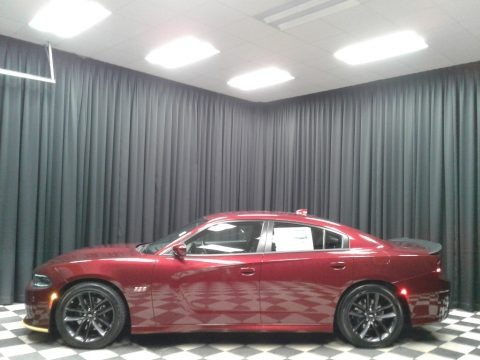 Octane Red Pearl 2019 Dodge Charger R/T Scat Pack