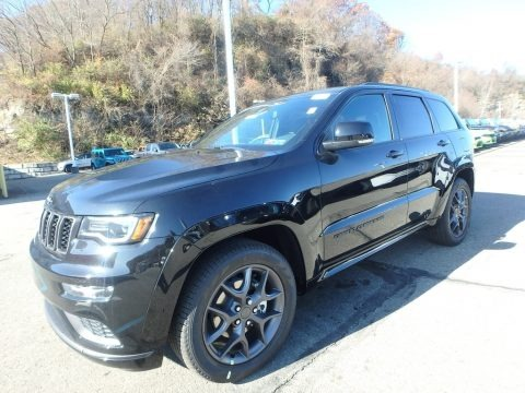 Diamond Black Crystal Pearl 2020 Jeep Grand Cherokee Limited 4x4
