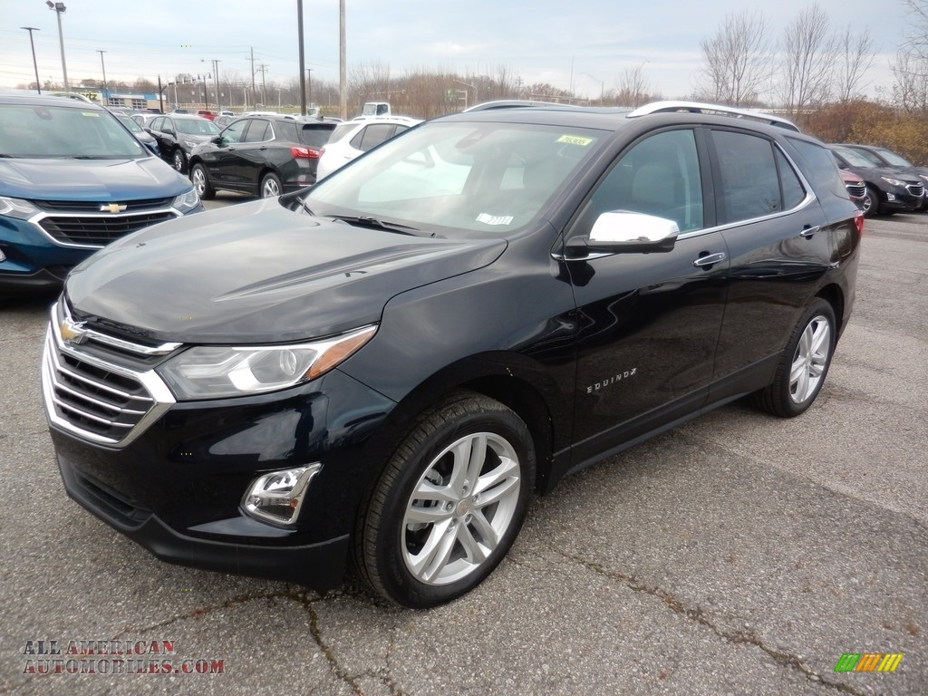 2020 Equinox Premier AWD - Midnight Blue Metallic / Ash Gray photo #1