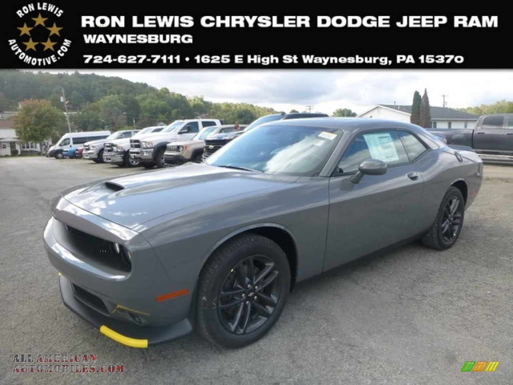 2019 Challenger GT AWD - Destroyer Gray / Black photo #1