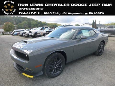 Destroyer Gray 2019 Dodge Challenger GT AWD