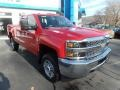 Chevrolet Silverado 2500HD Work Truck Double Cab 4WD Red Hot photo #1