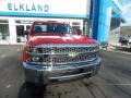 Chevrolet Silverado 2500HD Work Truck Double Cab 4WD Red Hot photo #2