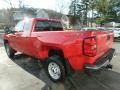 Chevrolet Silverado 2500HD Work Truck Double Cab 4WD Red Hot photo #5