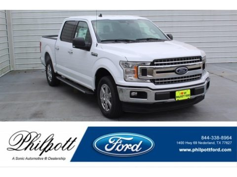 Oxford White 2020 Ford F150 XLT SuperCrew