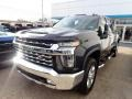 Chevrolet Silverado 2500HD LTZ Crew Cab 4x4 Black photo #12