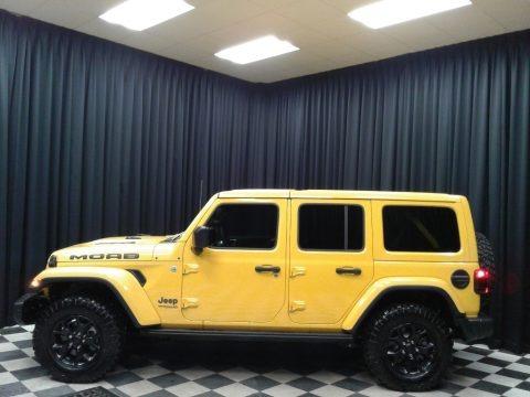 Hellayella 2019 Jeep Wrangler Unlimited MOAB 4x4