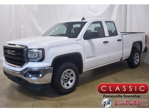 Summit White 2019 GMC Sierra 1500 Limited Double Cab 4WD