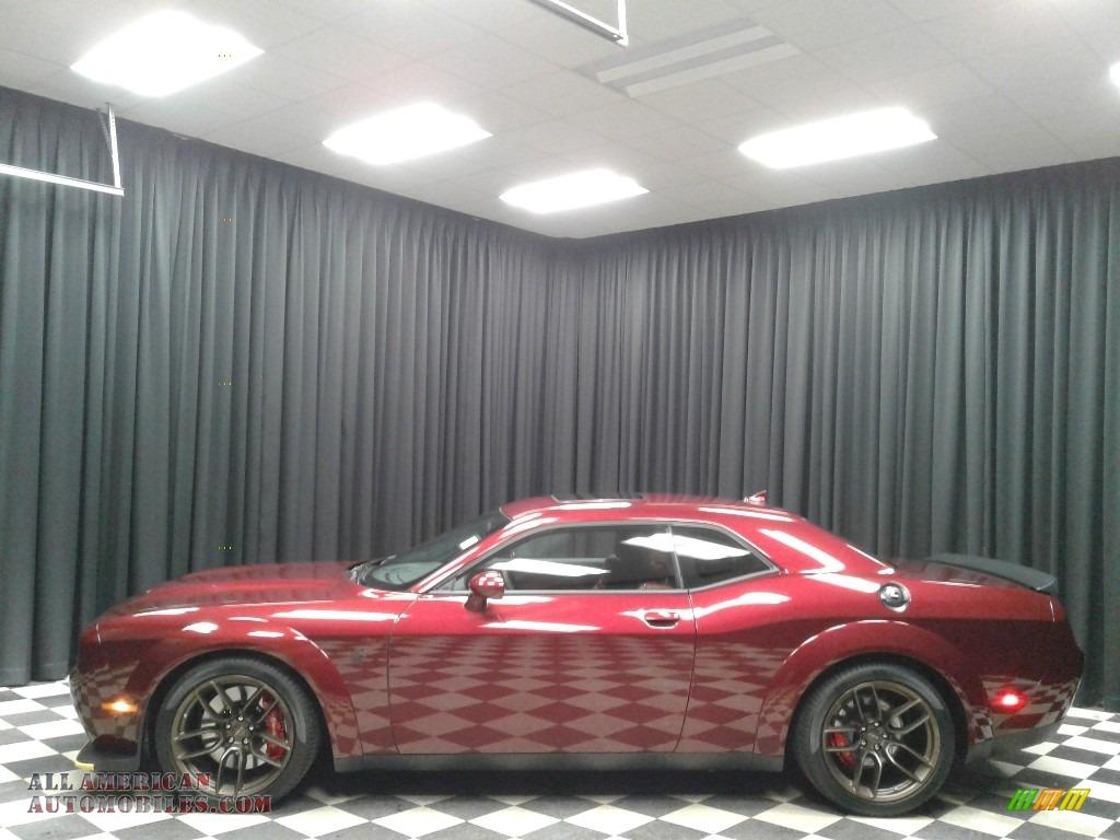 2019 Challenger SRT Hellcat Redeye Widebody - Octane Red Pearl / Demonic Red/Black photo #1