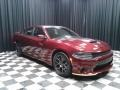 Dodge Charger Daytona Octane Red Pearl photo #4