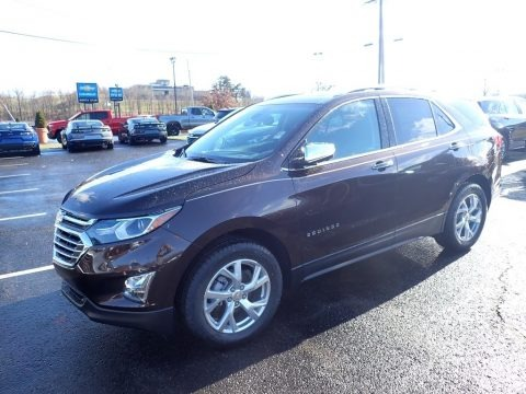 Chocolate Metallic 2020 Chevrolet Equinox Premier AWD