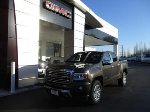 Smokey Quartz Metallic 2020 GMC Canyon SLT Crew Cab 4x4