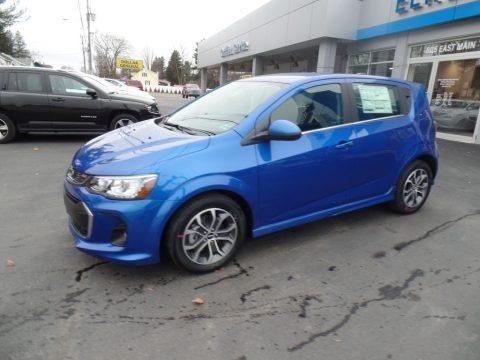 Kinetic Blue Metallic 2020 Chevrolet Sonic LT Hatchback