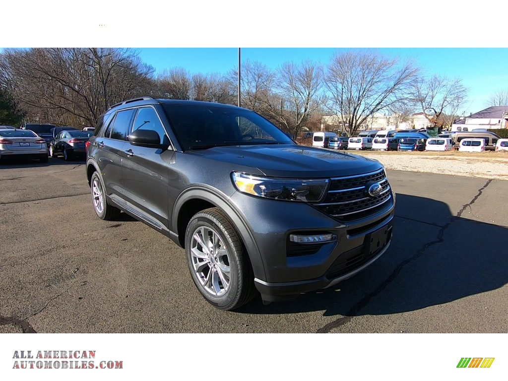 2020 Explorer XLT 4WD - Magnetic Metallic / Ebony photo #1