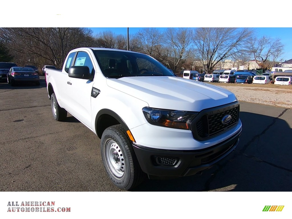 2019 Ranger XL SuperCab 4x4 - Oxford White / Ebony photo #1