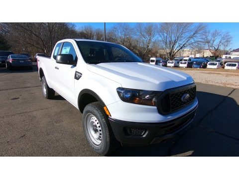 Oxford White 2019 Ford Ranger XL SuperCab 4x4