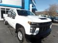 Chevrolet Silverado 2500HD Work Truck Crew Cab 4x4 Summit White photo #1
