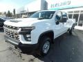 Chevrolet Silverado 2500HD Work Truck Crew Cab 4x4 Summit White photo #3
