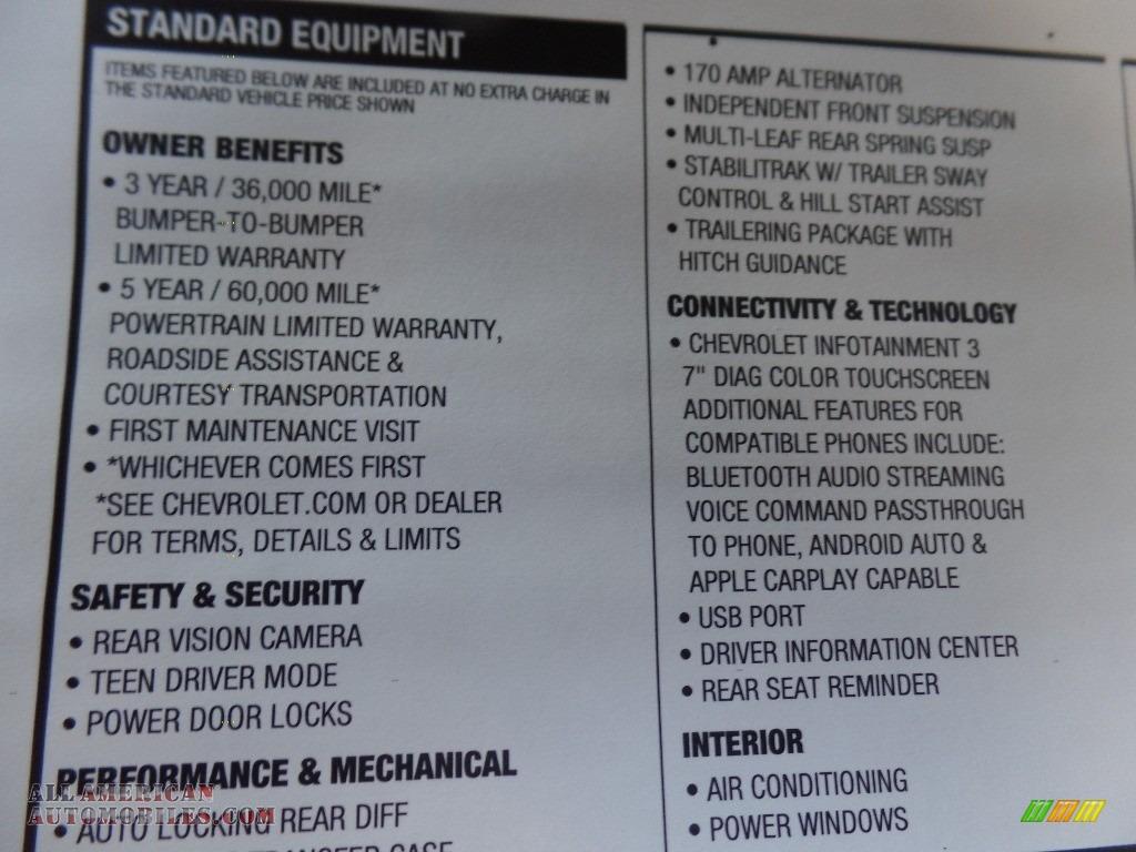 2020 Silverado 2500HD Work Truck Crew Cab 4x4 - Summit White / Jet Black photo #39