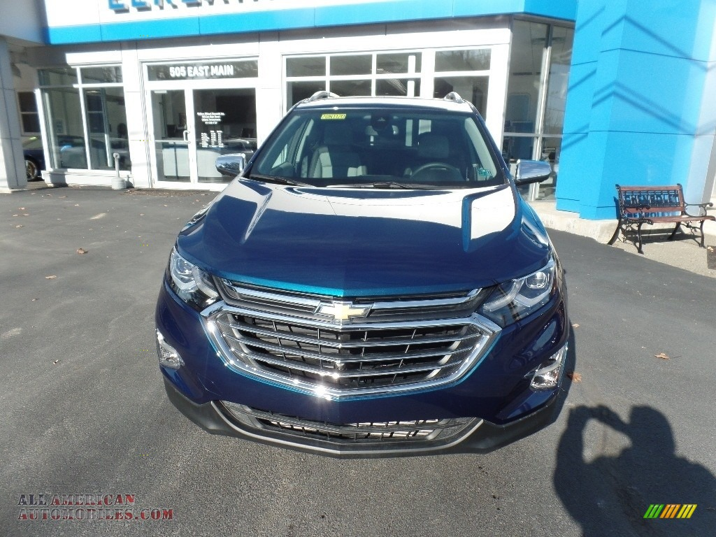 2020 Equinox Premier AWD - Pacific Blue Metallic / Ash Gray photo #2