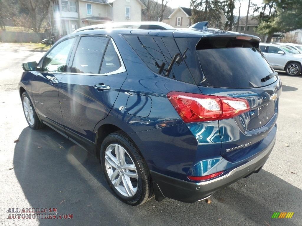 2020 Equinox Premier AWD - Pacific Blue Metallic / Ash Gray photo #6