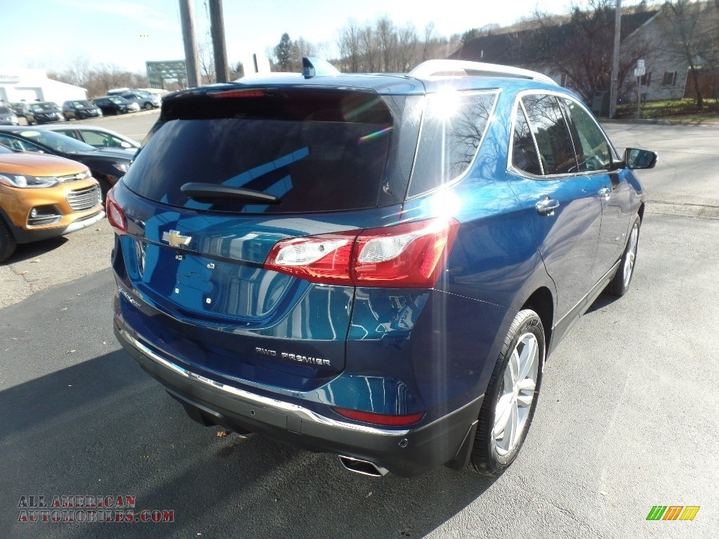 2020 Equinox Premier AWD - Pacific Blue Metallic / Ash Gray photo #8