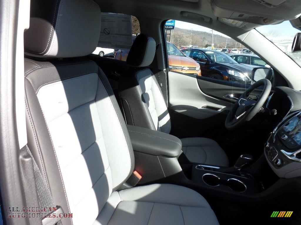 2020 Equinox Premier AWD - Pacific Blue Metallic / Ash Gray photo #12