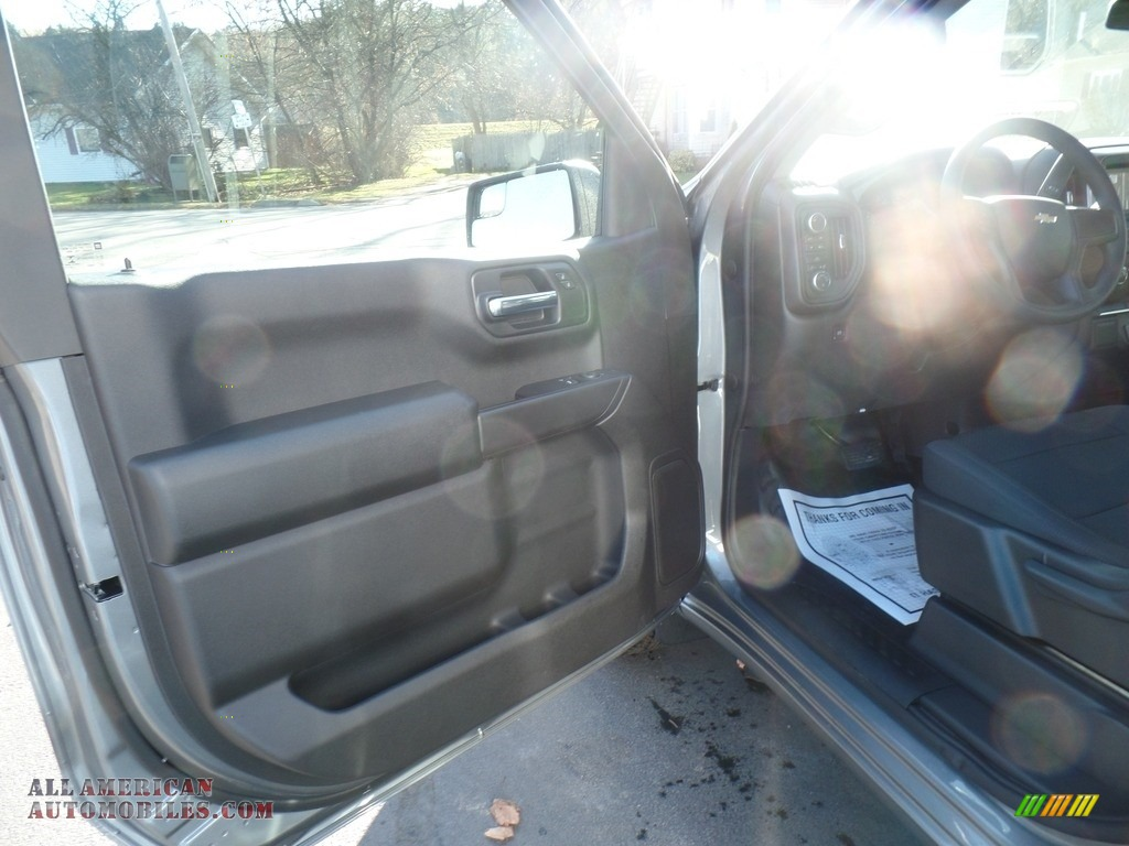 2020 Silverado 1500 WT Regular Cab 4x4 - Satin Steel Metallic / Jet Black photo #12