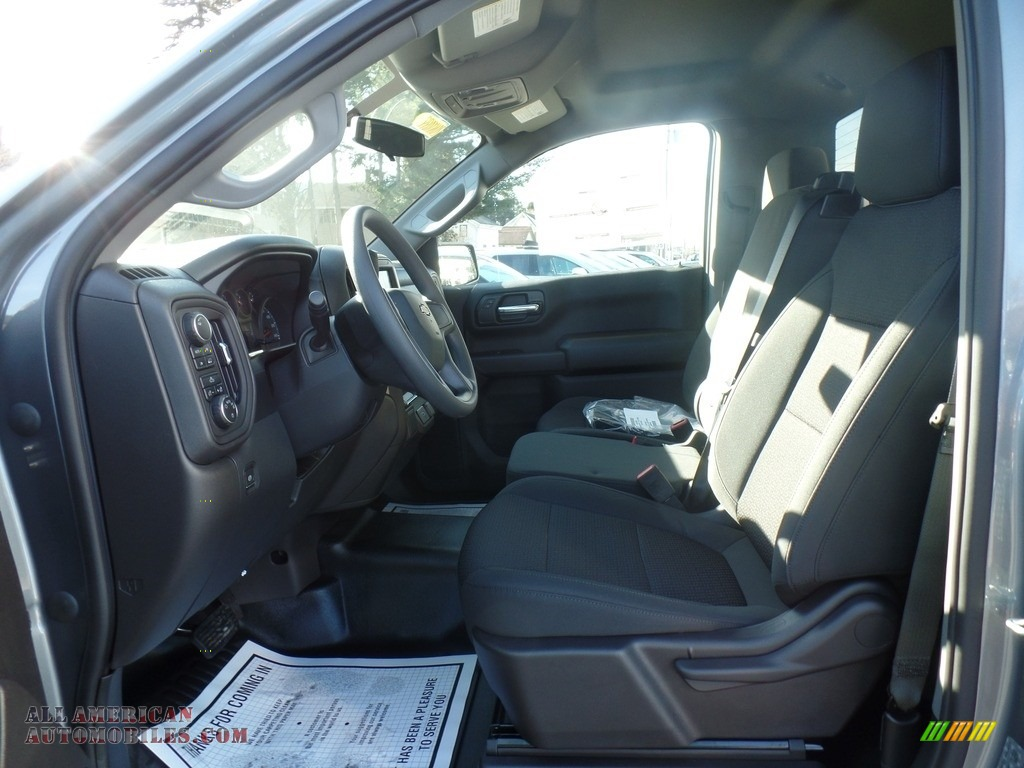 2020 Silverado 1500 WT Regular Cab 4x4 - Satin Steel Metallic / Jet Black photo #15