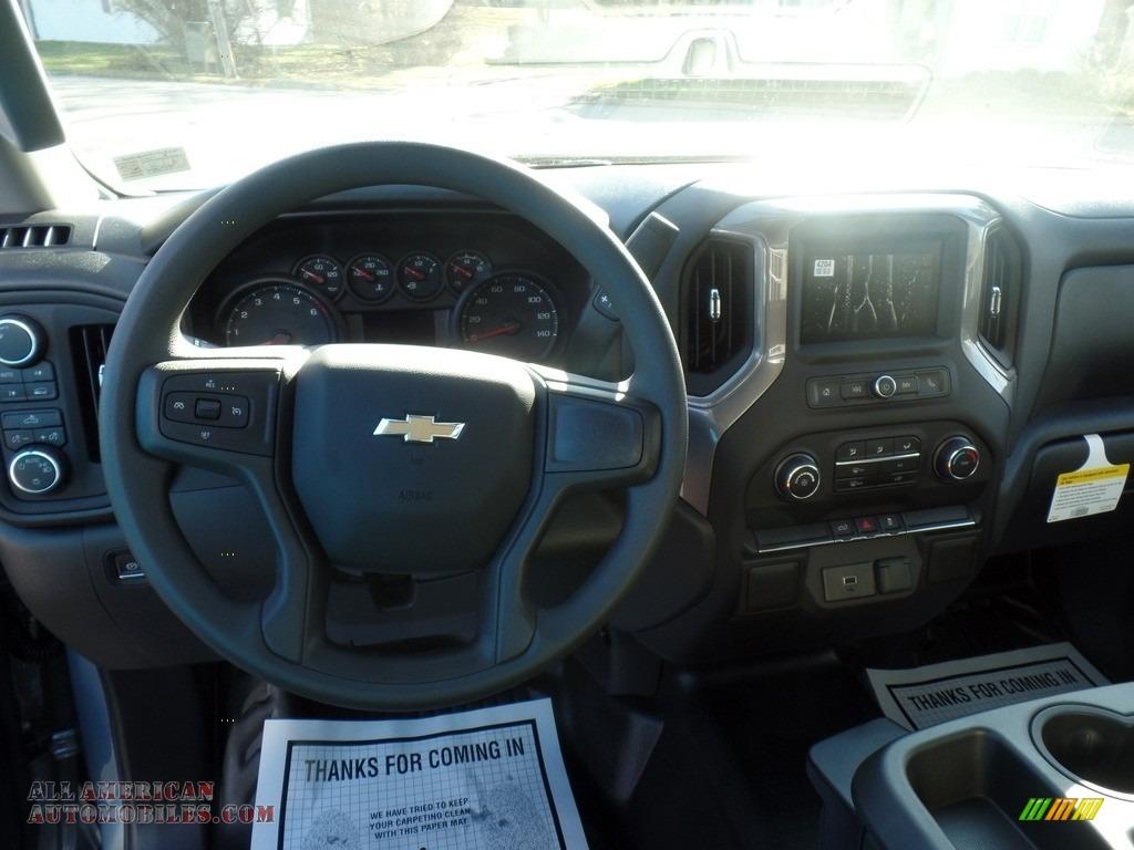 2020 Silverado 1500 WT Regular Cab 4x4 - Satin Steel Metallic / Jet Black photo #18