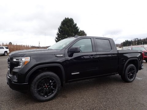 Onyx Black 2020 GMC Sierra 1500 Elevation Crew Cab 4WD