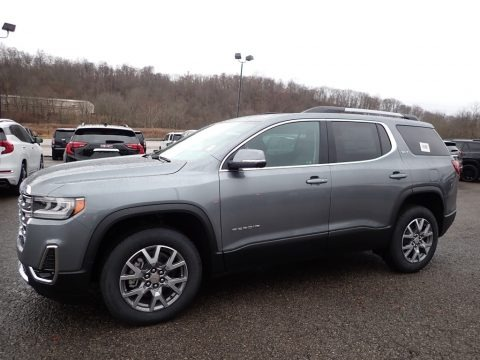 Satin Steel Metallic 2020 GMC Acadia SLT AWD
