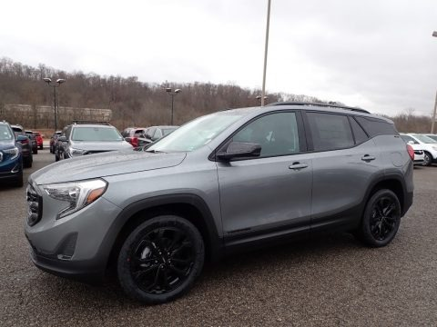 Satin Steel Metallic 2020 GMC Terrain SLE AWD