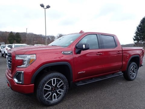 Red Quartz Tintcoat 2020 GMC Sierra 1500 AT4 Crew Cab 4WD
