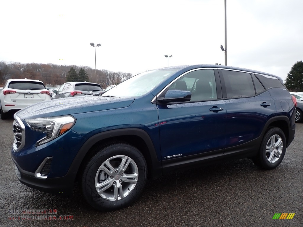 2020 Terrain SLE AWD - Blue Emerald Metallic / Jet Black photo #1