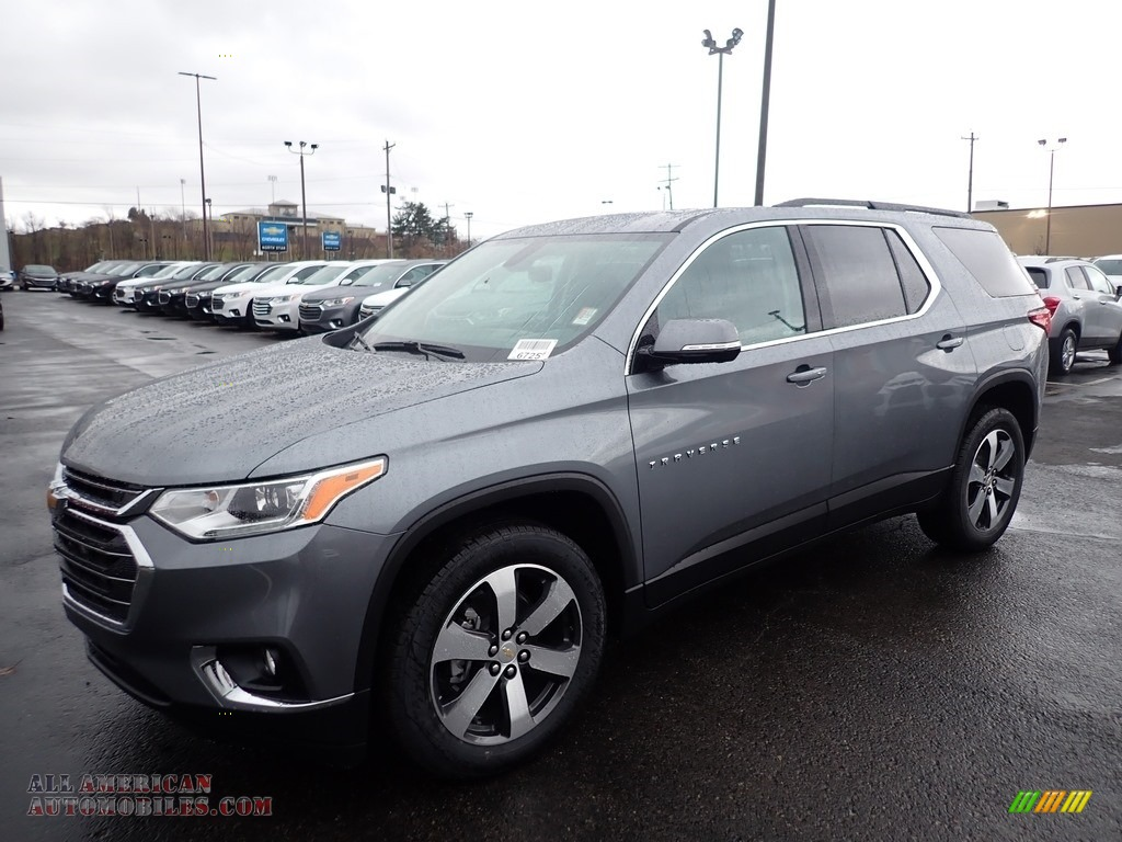 2020 Traverse LT AWD - Satin Steel Metallic / Jet Black photo #1