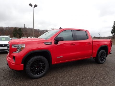 Cardinal Red 2020 GMC Sierra 1500 Elevation Crew Cab 4WD